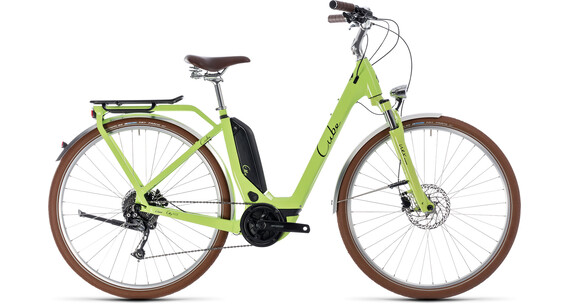 Cube Elly Ride Hybrid 500 Easy Entry Green'n'Black